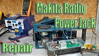 FIX .. Makita Radio not running on Batteries ..