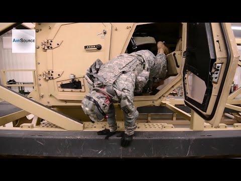 US Army MRAP (Mine Resistant Ambush Protected) Egress Training