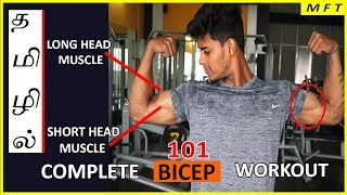 Complete BICEP workout with anatomy   MFT science based Fitness Series