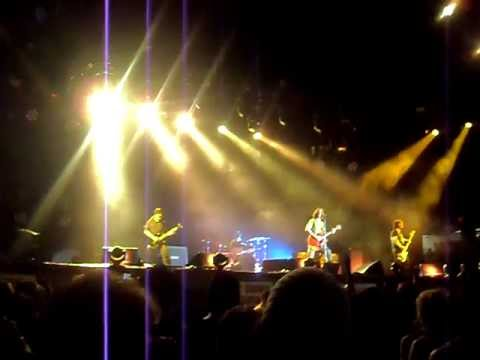 SoundGarden Rusty Cage Live Big Day Out 2012 Gold coast