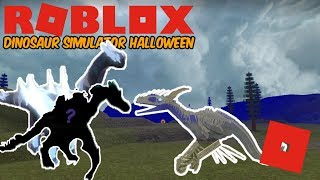 Roblox Dinosaur Simulator Halloween - Cyber Monday Skin!, Moon Bringer! + Defending My Beam!