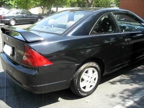 2003 honda civic dx coupe for sale ucc 1000 youtube. Black Bedroom Furniture Sets. Home Design Ideas