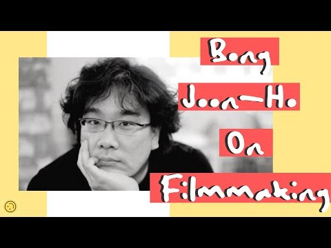 Bong Joon Ho's 5 Lessons On Filmmaking