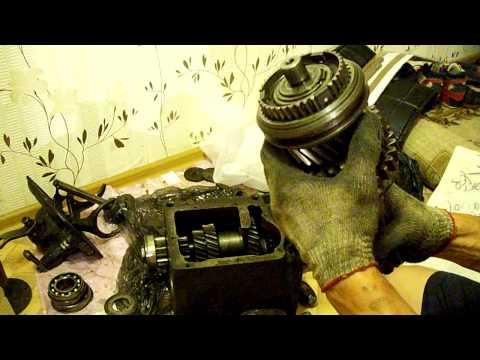 ремонт кпп уаз 452 синхронизированной своими руками видео