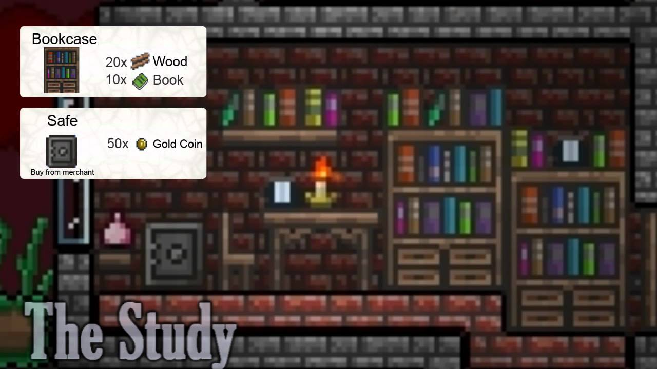 Terraria All Furniture Ikea Style Youtube