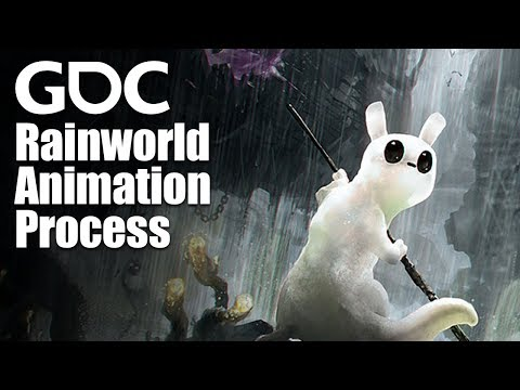 The Rain World Animation Process