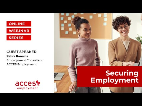 Securing Employment