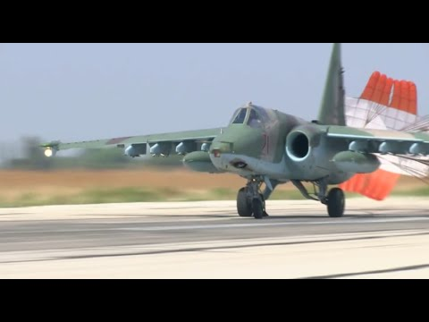 Closer look at Russian fighter jets...