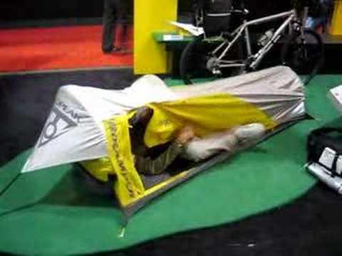 Bike K&er Tent & Bike Kamper Tent - YouTube