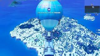 *NEW* SNOW MAP CHANGE! *SEASON 7* (FORTNITE CHRISTMAS MAP CHANGES)