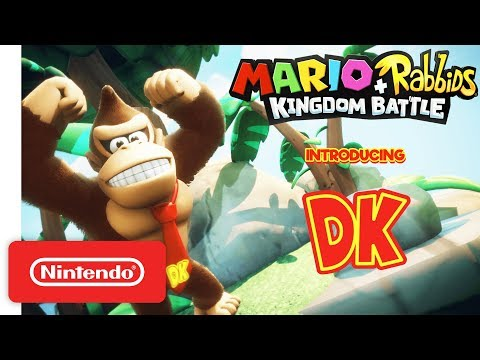Download Youtube: Mario + Rabbids Kingdom Battle: Donkey Kong Reveal Trailer - Nintendo Switch