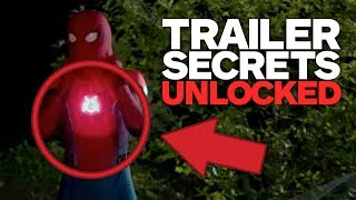 Spider-Man: Homecoming - New Trailer SECRETS Revealed