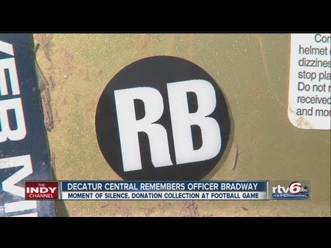 Decatur Central High School honors Rod Bradway