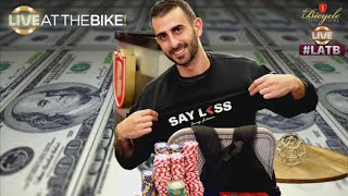 Ramsey Goes For It! Huge Bluff! ♠ Live at the Bike!