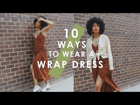 HOW TO STYLE: 10 Ways to Wear a Wrap Dress 👗
