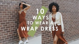 HOW TO STYLE: 10 Ways to Wear a Wrap Dress
