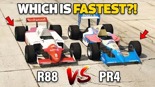 GTA V Online: OCELOT R88 VS PROGEN PR4 (WHICH IS FASTEST?)
