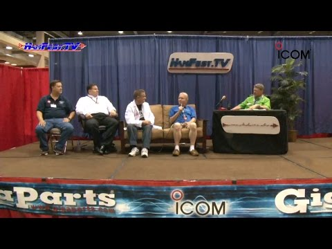 Hamfest TV - Don Wilbanks interviews George Thomas, Peter Barrett, Ray Novak, and Tommy Martin