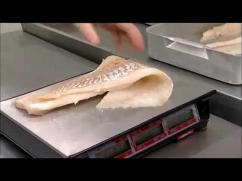 Filleting Fish For Fish And Chip Shops