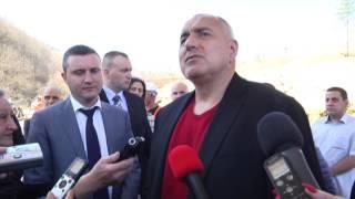 """Бойко Борисов в Габрово: Единствено ГЕРБ ще довърши АМ """"Хемус"""" и тунела под Шипка"""