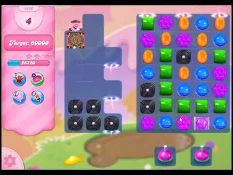 Candy Crush Saga Level 2866 - NO BOOSTERS
