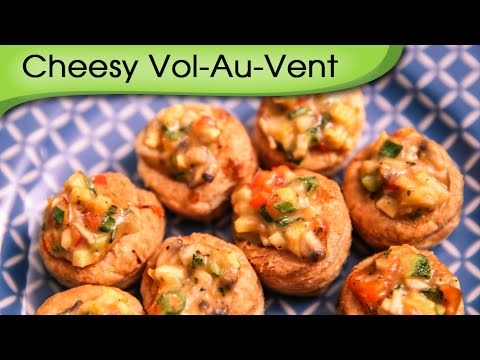 Cheesy Vol Au Vent Quick Simple Party Appetizer Recipe By