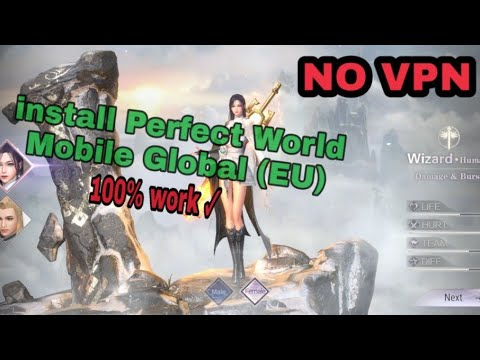 Cara Download/install Perfect World Mobile Global (EU) Android