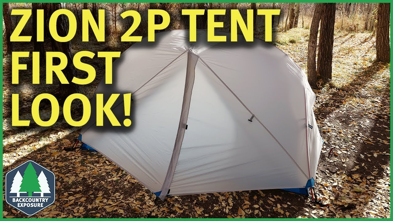 Zion 2P Tent First Look | Paria Outdoor Products & Zion 2P Tent First Look | Paria Outdoor Products - YouTube