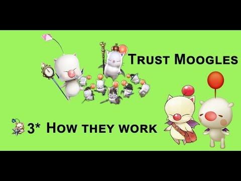 [FFBE] 3 Star Trust Moogles Talk + Offical FFBE Youtube Channel!