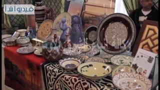 بالفيديو   شاهد معرض بالجامعة العربية للتراث الثقافى العربى