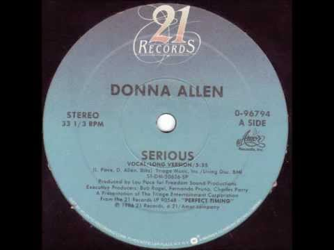 DONNA ALLEN - Serious (Vocal ̸̸ Long Version) [HQ]