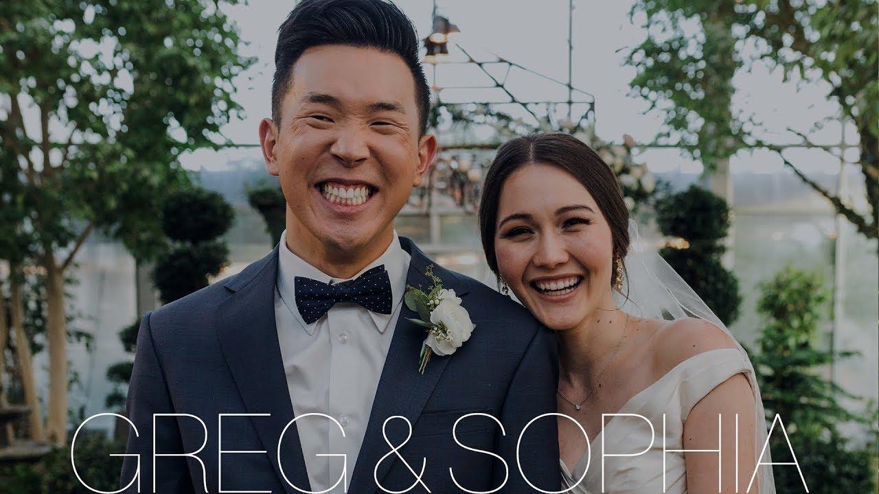 Modern Korean Wedding Film At Cactus Tropicals Draper Utah