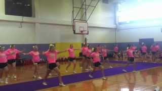 LA Basketball Cheerleaders Extreme Dance Final Evaluation