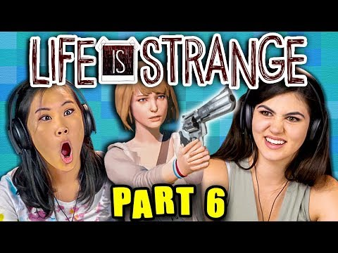 STAY AWAY FROM THE TRACKS!! | LIFE IS STRANGE - Part 6 (React: Gaming) thumbnail