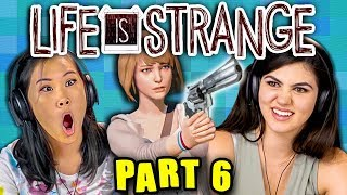STAY AWAY FROM THE TRACKS!! | LIFE IS STRANGE - Part 6 (React: Gaming)