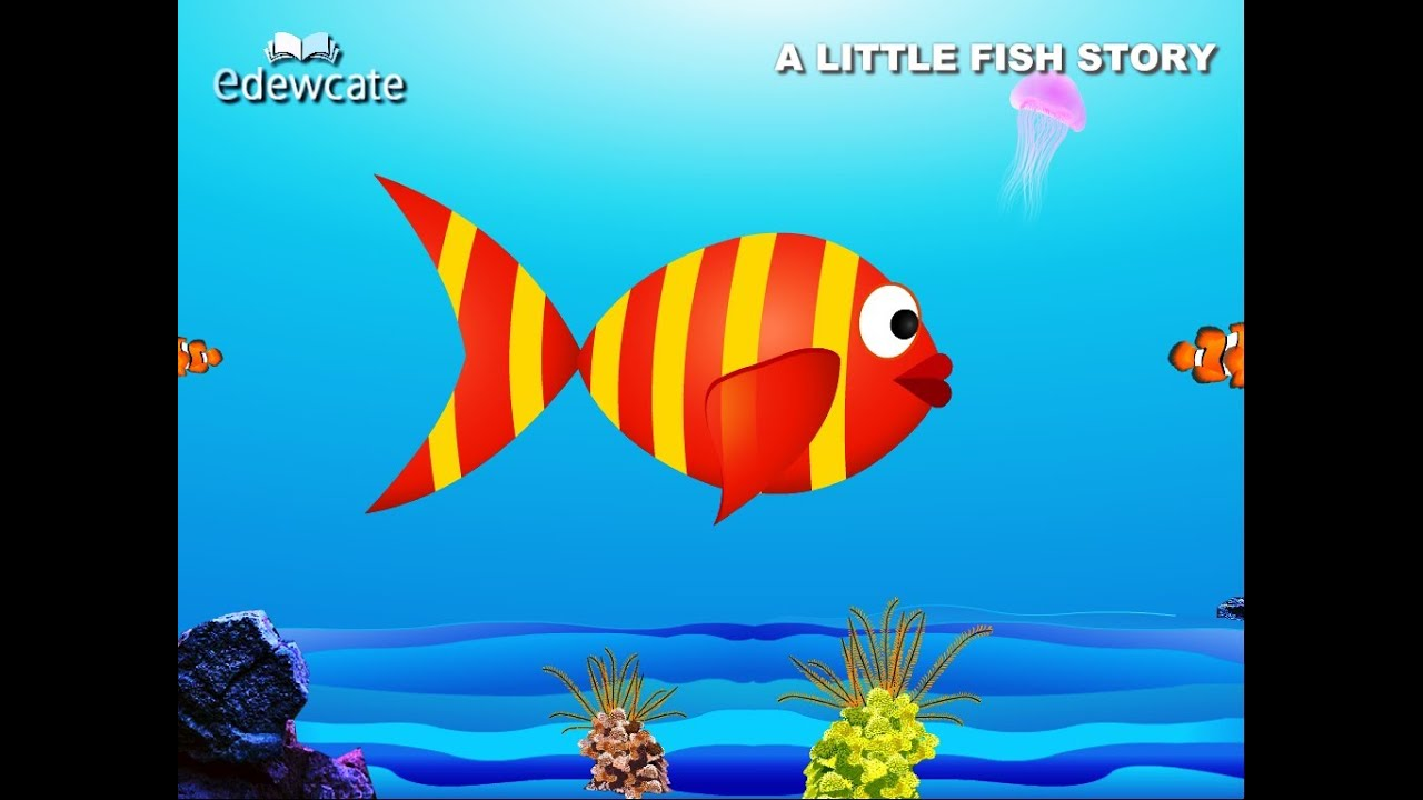 English story for kids little fish youtube for Fish for toddlers