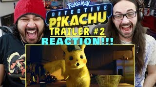 POKÉMON DETECTIVE PIKACHU - Official TRAILER #2 - REACTION!!!