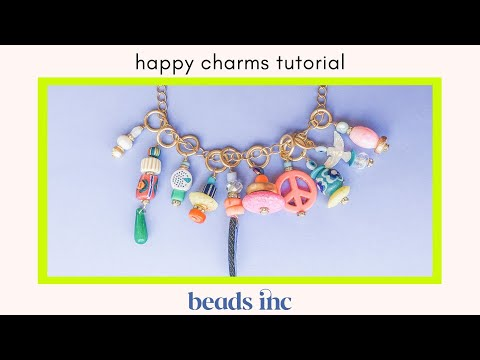 How To Make Happy Charms: a Jewelry Making Tutorial