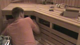 Sauna Build