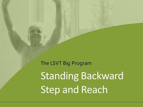 Exercise 5: Standing Backward Step and Reach