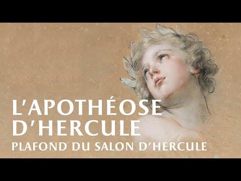 Plafond du Salon d'Hercule // Hercules room's ceiling