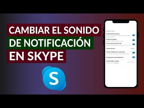 Cómo Cambiar el Sonido de Llamada y tono de Notificación de Skype Fácilmente