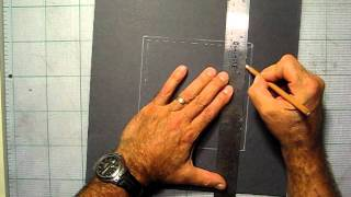 How To Frame A Finished Drawing 001.avi