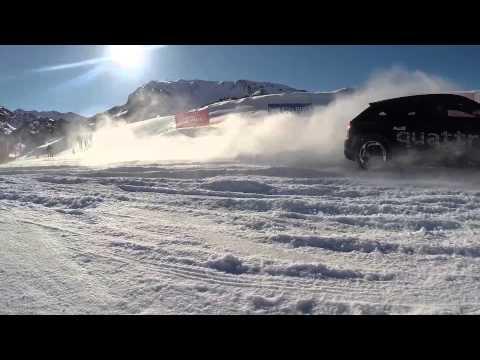 Audi Driving Experience en Baqueira Beret