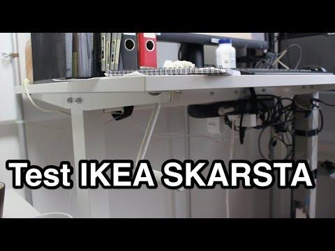 Test Ikea Skarsta Tisch Hohenverstellbar Test Hohenverstellbarer Tisch Youtube