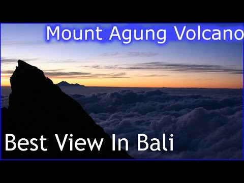 Best View In Bali, Hiking Up Mount Agung Volcano