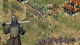 AoE2 - Goths Power vs Celts Power [Mbl vs Daut]
