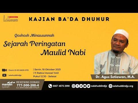 Download Sejarah Peringatan Maulid Nabi - Dr. Agus Setiawan, M.A.