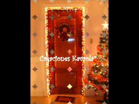 Decoraciones navide as youtube - Decoraciones para banos ...