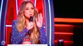 "Mariah Carey Sings ""Praying"" By Kesha On The Voice! (2018)"